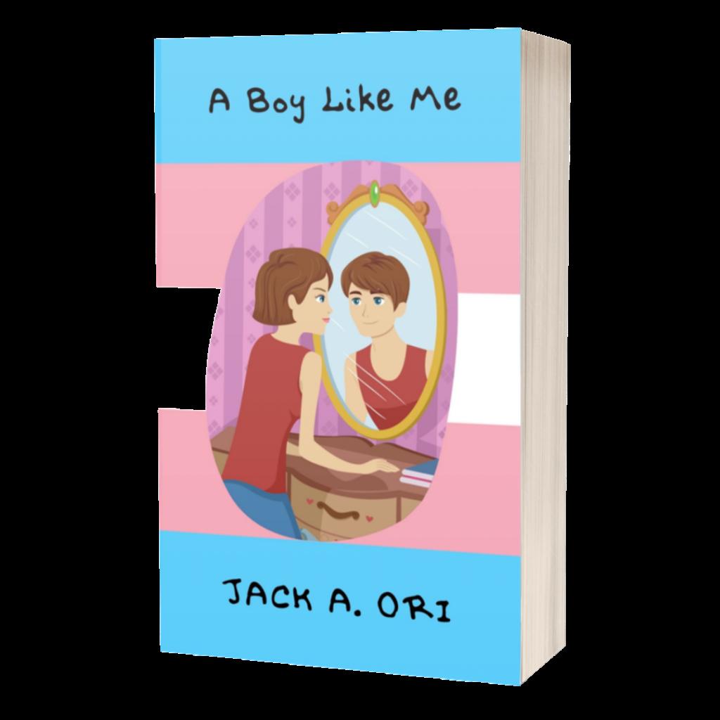 A Boy Like Me 3D mockup